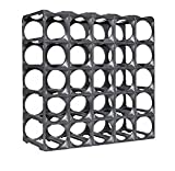 30 bottle wine rack - Stakrax - Stackable, Modular Wine Rack - 30 Bottle Set