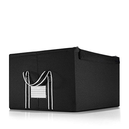 reisenthel storagebox L, Large Collapsible Storage Bin, Black