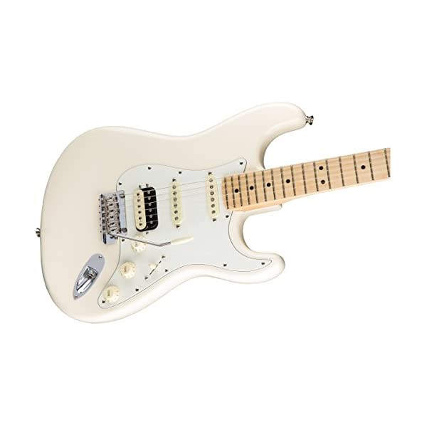American Professional Stratocaster HSS Shawbucker MN Olympic White