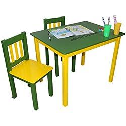 Kangaroo Trading John Deere Table and Chairs Set Green