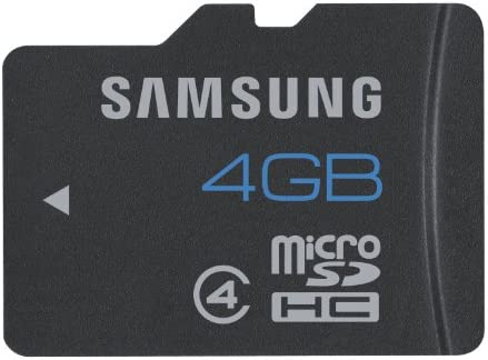 Samsung Micro SD 4GB - Tarjeta Micro SDHC de 4 GB (Class 4), Negro