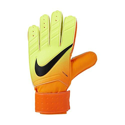 Nike Match Goalkeeper Soccer Goalkeeper Gloves (Brilliant Citrus, Volt) – DiZiSports Store