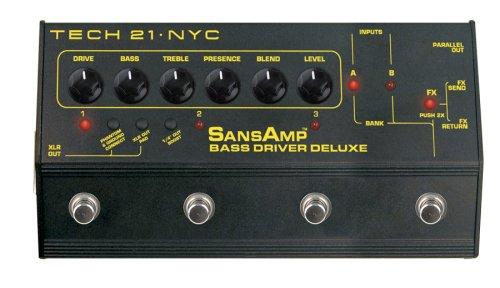Tech 21 BSDR-DLX SansAmp Bass Driver Deluxe