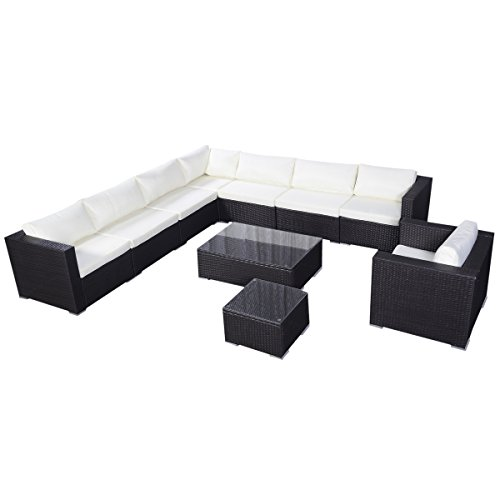 Giantex Outdoor Furniture Wicker Aluminum Price