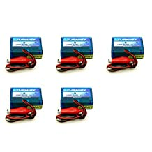 5 x Quantity of Turnigy 12v 2S-3S Basic Balance Battery Charger for Li-Po Batteries