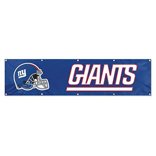 Party Animal New York Giants 8'x2' NFL Banner Giant Party Banner
