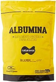Albumina - Refil, Naturovos, Baunilha, 500 g