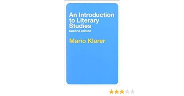 Amazon an introduction to literary studies 9780415333825 amazon an introduction to literary studies 9780415333825 mario klarer books fandeluxe Gallery