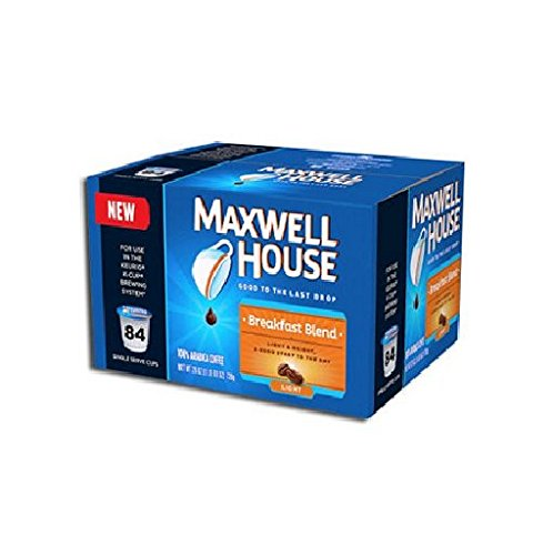 Maxwell House Breakfast Blend Coffee , Single Serve Keurig K-Cup (84 ct)