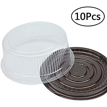 Amazon Com 8 Inch Round Cake Container Chiffon Cake
