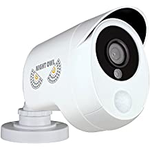 Night Owl Security 1 Pack Add–On 1080p Wired HD Analog Security Camera with Heat