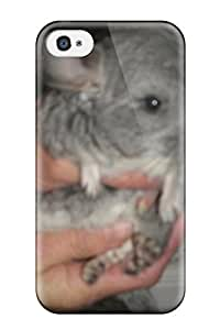 First-class Case Cover For Iphone 4/4s Dual Protection Cover Baby Chinchilla