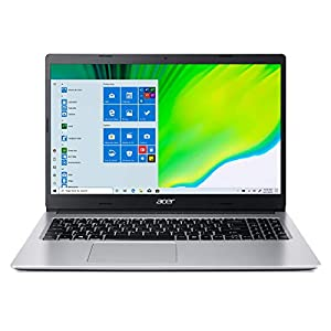 Acer Aspire 3 AMD Ryzen 5-3500U 15.6″ (39.62cms) Full HD IPS Display Thin and Light Laptop (8GB Ram/512GB SSD/Win10/Integrated Graphics/Pure Silver/1.9), A315-23