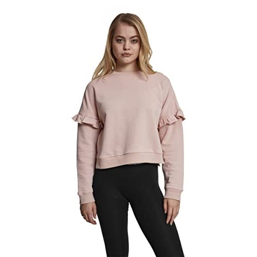Urban Classics Damen Pullover Ladies Oversize Crewneck