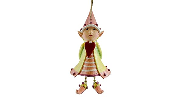Patience Brewster Cupids Heart Elf Krinkles Christmas D/écor New 08-30663 Patience Brewster Inc.