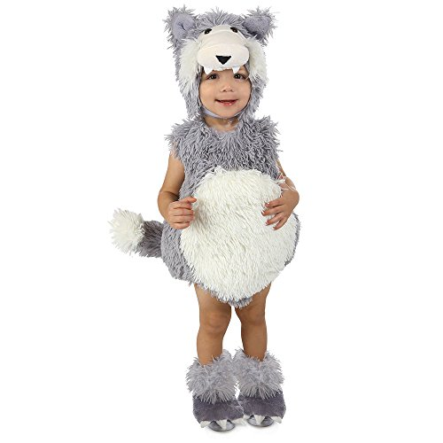 Princess Paradise Baby Vintage Beau The Big Bad Wolf Deluxe Costume, As Shown, 18M/2T
