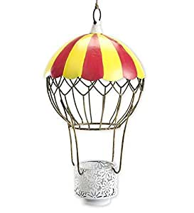 amazoncom wind and weather metal hot air balloon candle
