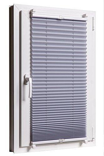 Favorit Plissee verspannt Rollo Plisse Klemmfix Sichtschutz Sonnenschutz RZ93