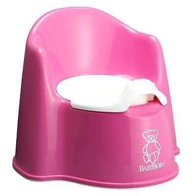 Pink BabyBjorn Potty Chair baby gift idea