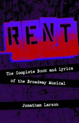 Pdf Arts Rent: The Complete Book and Lyrics of the Broadway Musical