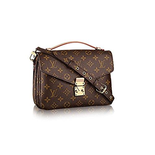 Authentic Louis Vuitton Monogram Canvas Pochette Metis Cross Body Bag Handbag Article: -