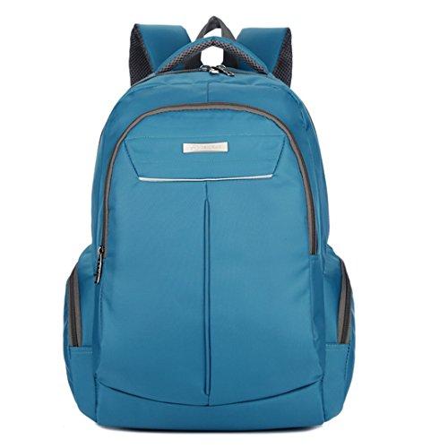 Wewod bolso de la manera de los hombres de la manera bolso al aire libre del alpinismo del recorrido bolso de la computadora del negocio impermeable 33 cm * 48 cm * 19 cm (Púrpura) Azul
