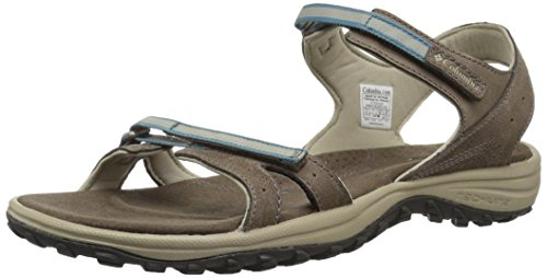 Blue Women's Santiam Hiking Sandals Mud Columbia Canyon pYxTqP1Pw