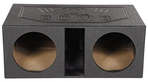 Rockville Dual 12″ 2.25 cu. ft. Vented Subwoofer Sub Box Enclosure w/Bed Liner