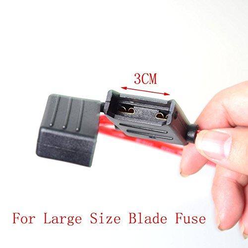 Etanche Maxi Fusibles Titulaire Auto Voiture Motor In-line Porte Lame Fuseholder Protection Contre Les Surcharges de Circuit 5,26 mm² 10AWG delicate