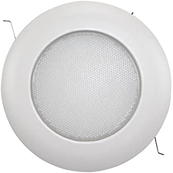 Fresnel shower plastic trim for 6 recessed can recessed light capri lighting alalite 6 shower light recessed ceiling waterproof trim white sh12p mozeypictures Image collections