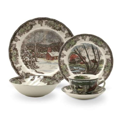 Johnson Brothers Friendly Village 20-Piece Set, Service for 4
