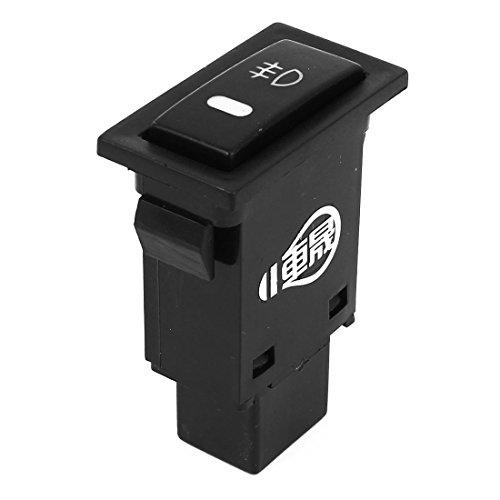 Automobile Car Self Lock Fog Light Rocker Switch Button for Camry - 2