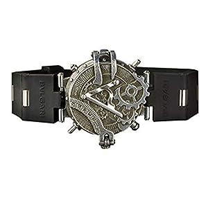 XINXIN Steampunk Hombres Reloj Personalidad Segundos Placa Creativa Reloj Correa De Goma Antigua Reloj De Cuarzo Mujer Reloj