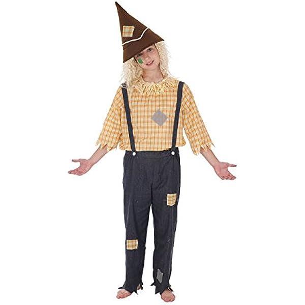Disfraz de Espantapájaros para niño: Amazon.es: Juguetes y juegos