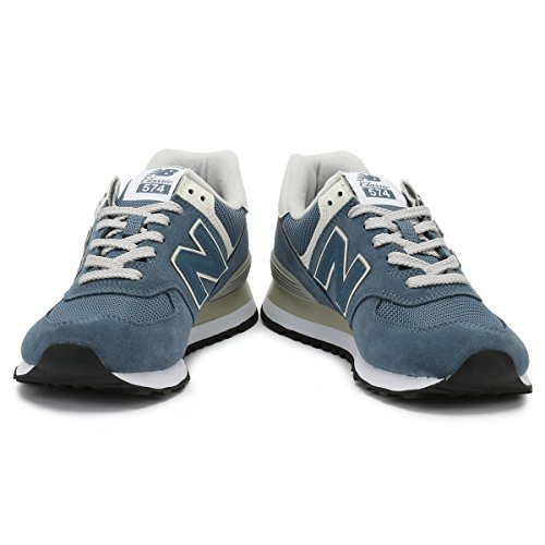 New Balance Damen 574v2 Sneaker Blau (Light Petrol/Light Petrol Crb)