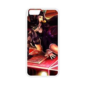 anime car girl iPhone 6 4.7 Inch Cell Phone Case White PSOC6002625719835