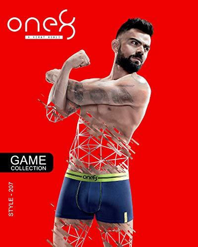 one8 by Virat Kohli Men's Stretch Trunk (Pack of 3)