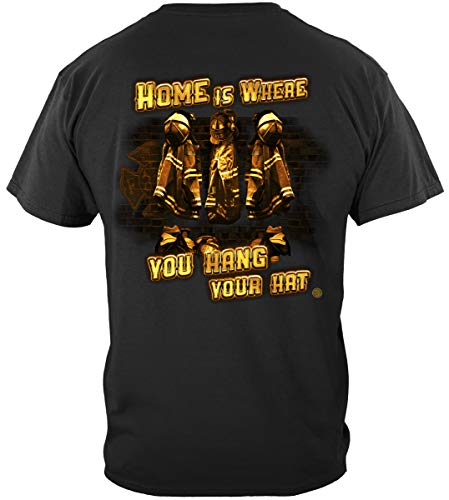 Firefighter Gear Bag Turnout | Home is Where You Hang Your Hat Fire Shirt ADD157-FF2140XL