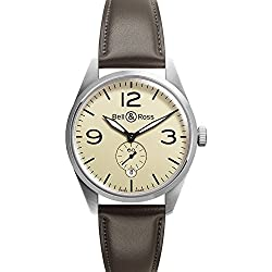 Bell & Ross Vintage Original Br 123 Mens Watch Br123-Original-Beige