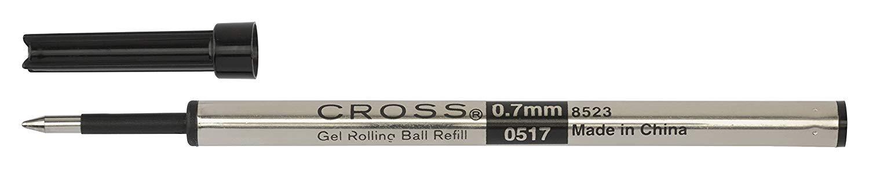 Cross Refill for Selectip Gel Roller Ball Pen, Black, 1 per Card (8523) (Fоur Расk, Black) by Cross (Image #7)