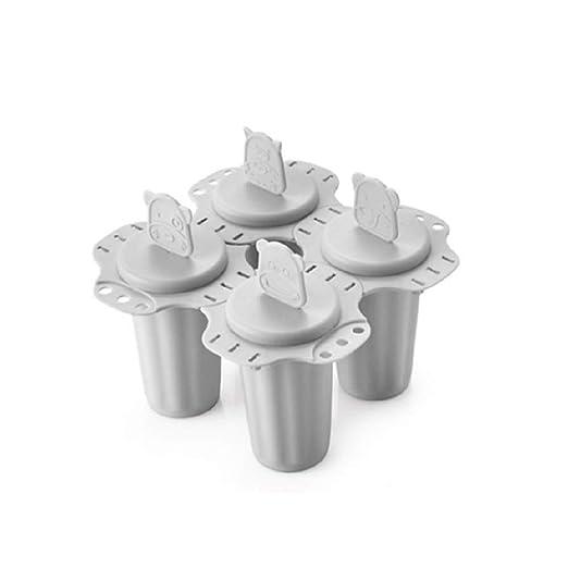 IETONE - Cubitos de helado caseros con 4 celdas de dibujos ...