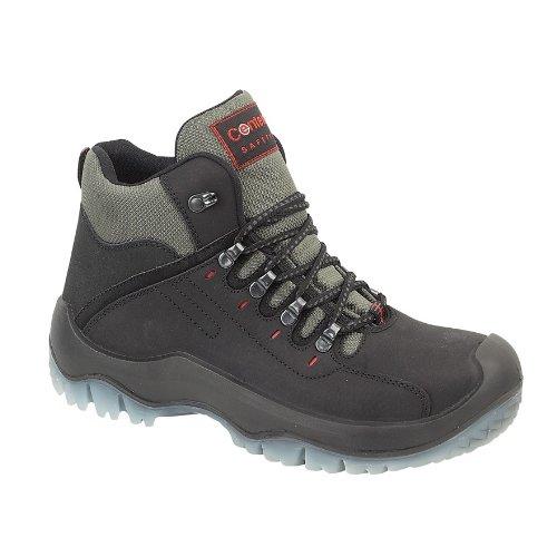 Footsure - Calzado de protección de cuero para hombre negro negro 40.5 negro