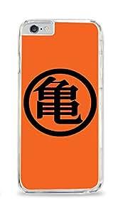 Goku Symbol iPhone 6 Clear Hardshell Case