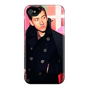 Apple Iphone 4/4s RGa359NdEM Support Personal Customs High Resolution Arctic Monkeys Band Pictures Scratch Resistant Hard Phone Case -icase88