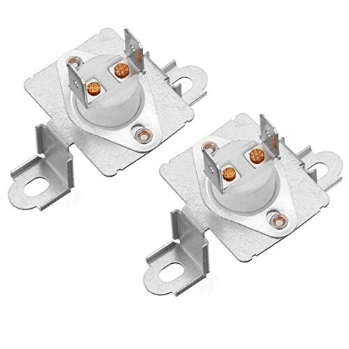 DC96-00887A Dryer Thermostat Thermal Fuse Assembly Bracket for Samsung Dryer Thermal Cut-Off Fuse fit 2074129 WP35001193 AP4207819 AP5966894 PS11741829 (pack of 2)