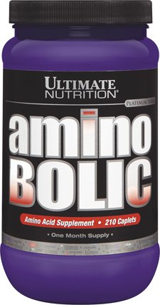 Ultimate Nutrition Platinum Series - ULTIMATE NUTRITION AMINOBOLIC 210 CAPS Bottle