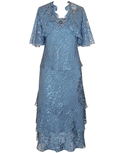 Alex Evenings 175543, Beaded, Print Special Occasion Dress and Jacket Set