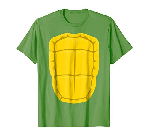 Mens Funny Turtle Shell Halloween Costume Shirt Gift Clever DIY Large (Diy Halloween Costumes Funny)
