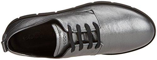 para Dark Ecco Cordones Shadow Derby Mujer Bella Gris de Zapatos qggxfAX