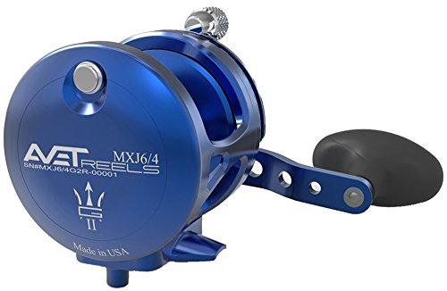 Avet MXJ G2 6 4 Two Speed Reel – Right-Hand – Blue